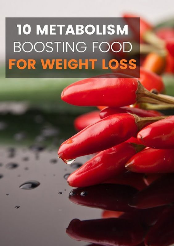 10 Metabolism Boosting Food For Weight Loss