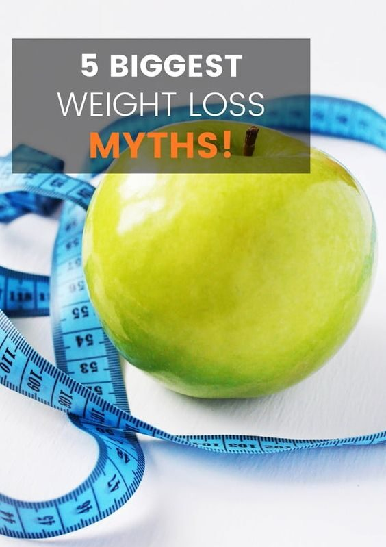 5 Biggest Weight Loss Myths