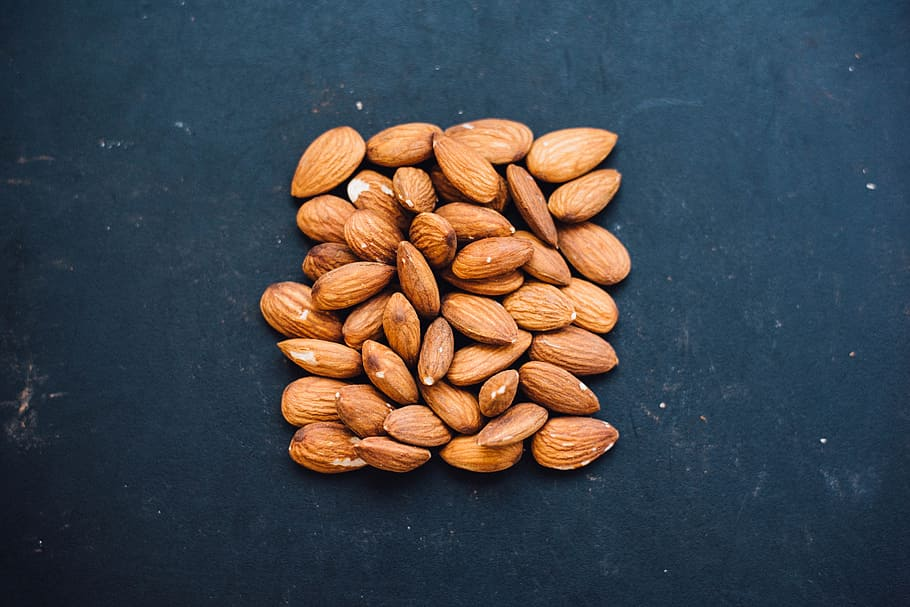 Almonds are rich in protein