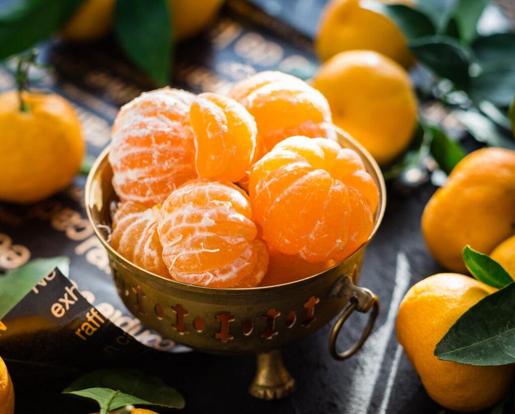 Antioxidant Tangerine And Blueberry