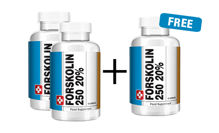 Forskolin250 - 2 BOTTLES + 1 FREE​