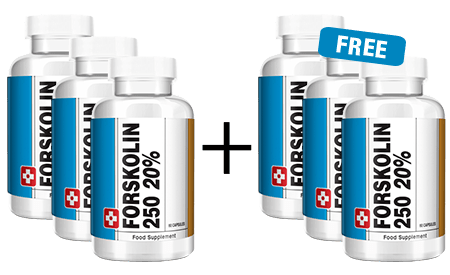 Forskolin250 - 3 BOTTLES + 2 FREE​