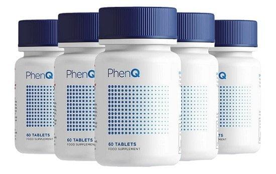 PhenQ Five Bottles