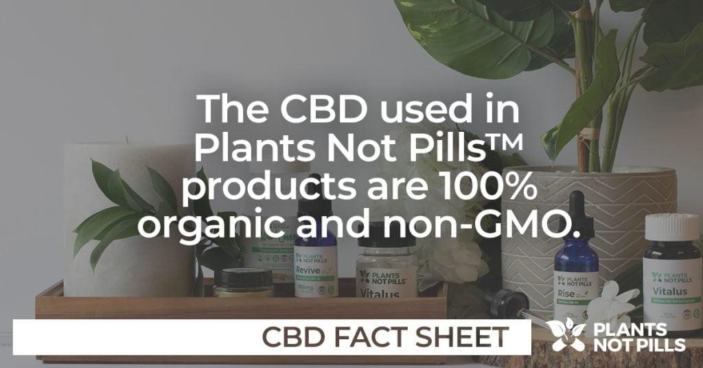 Plants Not Pills CBD Oils