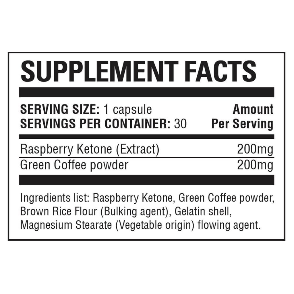 Raspberry Ketone Ingredients