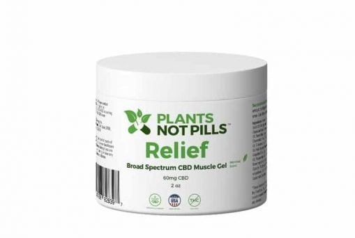 Relief CBD Muscle Gel review