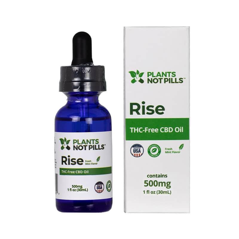 Rise THC-Free Organic CBD Oil Review