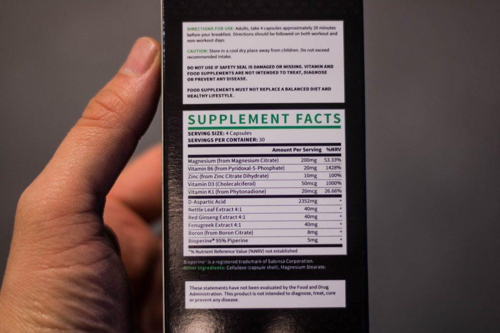 TestoGen Ingredients - Natural Testosterone Booster Supplements