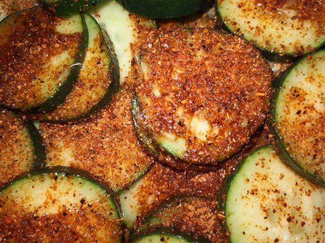 Zucchini and Negative Calories